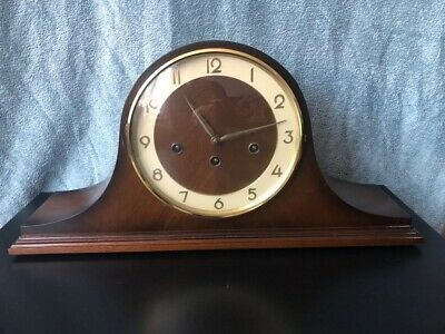 Antique Clock, Vintage Wooden Mantel Chiming Clock For Repair - TEMPORA
