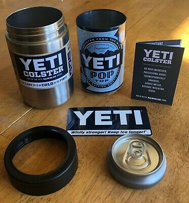 Yeti (84450) Rambler 12oz Insulated Stainless Steel Colster NEW