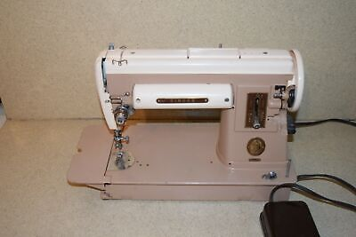 >> Singer 301A Vintage Sewing Machine W/ Foot Pedal 1950'S