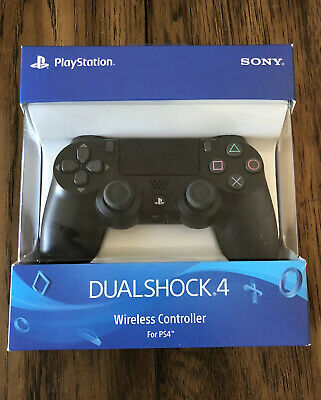 Genuine OEM Sony PlayStation 4 Dualshock 4 Wireless Controller Jet Black- New