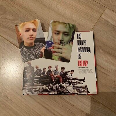 nct 127 1st mini album fire truck with taeil photocard set