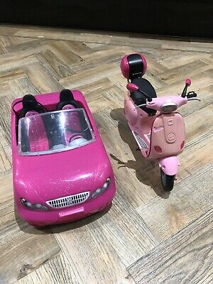 Barbie Car and Moped bundle