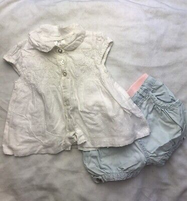 Girls Summer Outfit Up To 3 Months