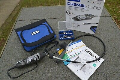 Dremel 4000 Rotary Multi Tool and Accessories VGC