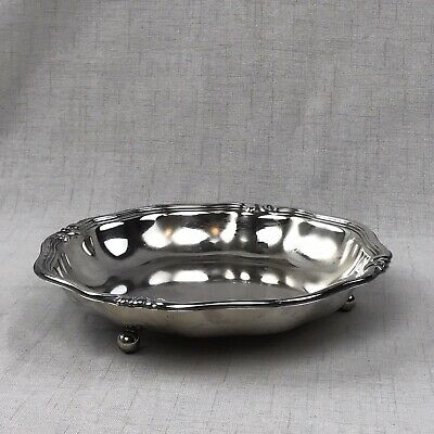WMF Art Nouveau Footed Dish Bowl Silver Plated