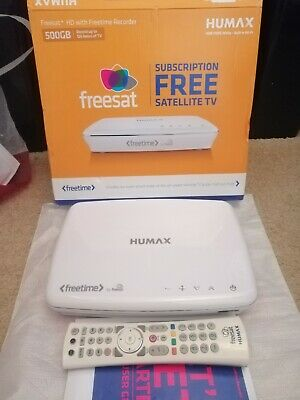 Humax Freesat Hd Digital Tv Recorder 500Gb - Hdr 1100S White