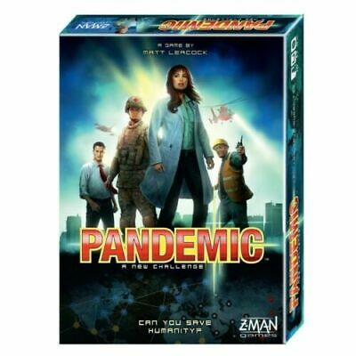 Pandemic Board Game Z Man Games 2012 BRAND NEW & SEALED Christmas gift
