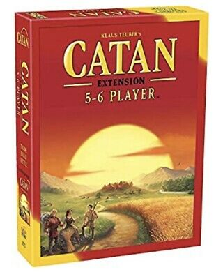 Catan 5-6 Player Extension, Free Shipping From U.S.A