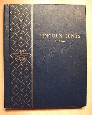 Lincoln Cents 1941 to 1965 + Set in Deluxe Whitman Coin Album not Complete.