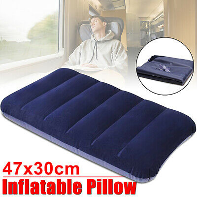 Highlander base auto gonflant Blow Up Air Travel Camping Oreiller Coussin Tapis