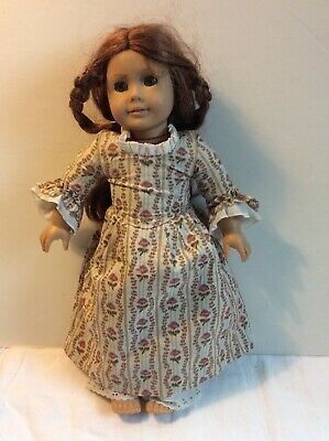 Original Pleasant Company American Girl Doll Felicity W Rose Garden Meet Dress