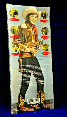 Roy Rogers Tribute Special Edition Standee Case (CD, Sep-1991, RCA) New in Case