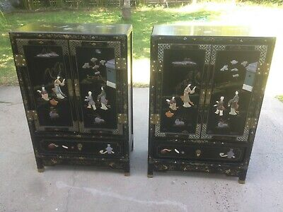 pair of japanese Cabinets