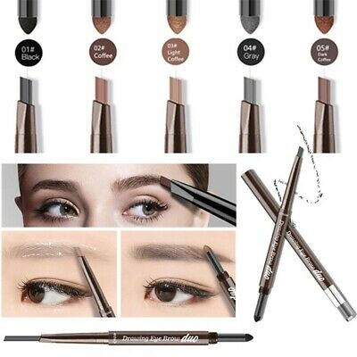 2 in 1 Long Lasting Waterproof Automatic Eye Brow Pencil Eyebrow Powder Makeup