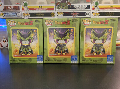 Funko Pop! Dragon Ball Z Perfect Cell Box~ Sealed~ Gamestop Exclusive ~ Tee