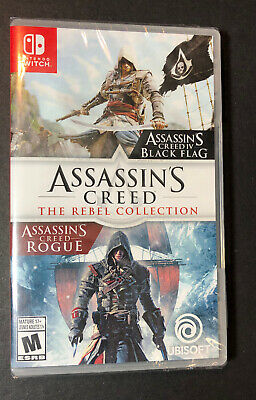 Assassin's Creed The Rebel Collection [ Black Flag + Rogue ] (Switch) NEW