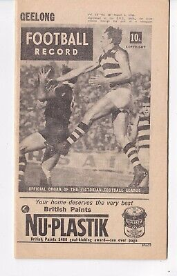 Football Record  Book   August 6, 1966