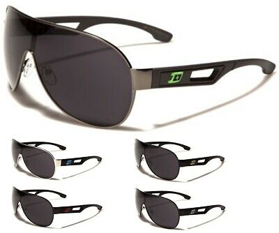 New Men's Sunglasses by DXTREME Aviator Shield Oversized Style Single Piece Lens