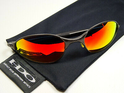 Oakley C Wire Gunmetal Ruby Sonnenbrille Whisker Tightrope Square Juliet Romeo A