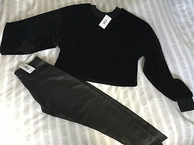 Girls Jumper & Legging Set Age 11/12 Candy Couture From Matalan Bnwt