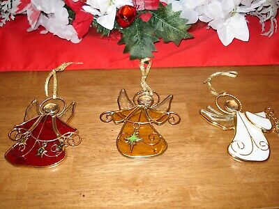 Country Church// Steeple Suncatcher or Ornament w//Suction cup New Old Stock