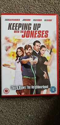 Keeping Up With The Joneses (DVD, 2017)
