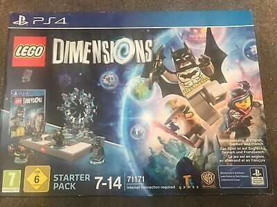 Lego dimensions ps4 starter pack.All Complete.