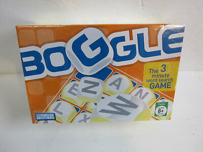 Boggle  game The 3 minute word search Parker Brothers 2005 new sealed