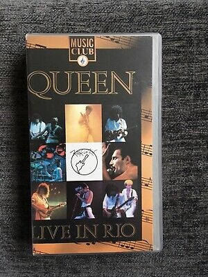 Queen Live In Rio VHS