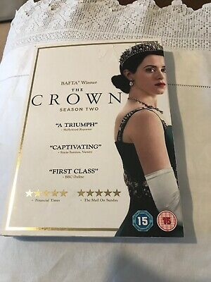 The Crown DVD Series Two 4 Disc Compete Set Region 2