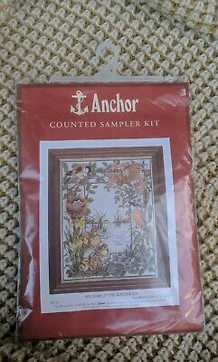 Birth Record Anchor Train Sampler Counted Cross Stitch Kit ACS11