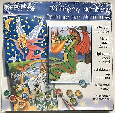 Reeves, Painting by Numbers (painting set), PPNJS9, NEW-SEALED
