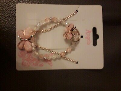 Accessorize Young Girls Necklace Bracelet And Ring