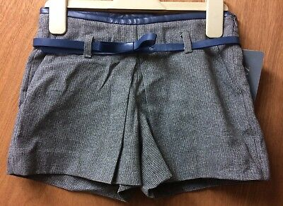 ❄️ Age 5-6 Years Old Zara Girls Special Occasion Shorts + Free Tights BNWT ❄️