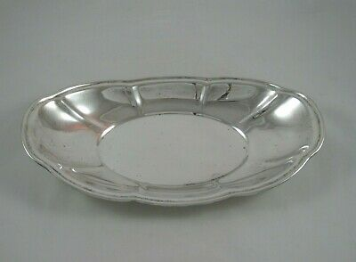 """12"""" Revere Silver Co Sterling Bowl 395 grams Bread Platter Dish 643 Serving Tray"""