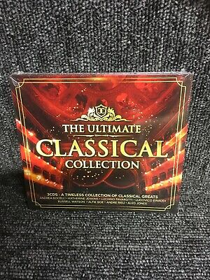 THE ULTIMATE CLASSICAL COLLECTION 3 CD SET (CD) New Sealed Box Set, 60 Tracks