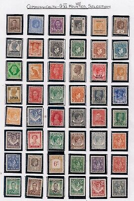 Commonwealth-Super Selection Of 48 Gvi Unmounted Mint Stamps.all Different.