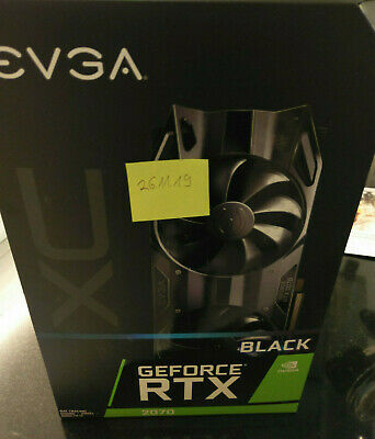 EVGA GeForce RTX 2070 XC BLACK EDITION GAMING GDDR6 8GB Grafikkarte
