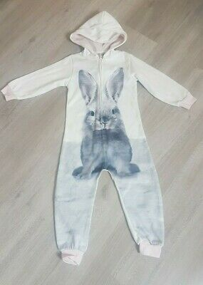 NEXT Girls Rabbit/Bunny Hooded All In One size 3 years