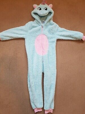 Girls Unicorn All-in-one Suit 6-7 Years