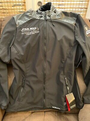 2019 Disney Parks Star Wars Galaxy's Edge Opening Hoodie Jacket Large NWT Rare