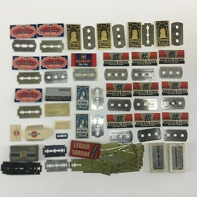 Vintage collection lot Razor Blade Blades mozart gillette henckels robart