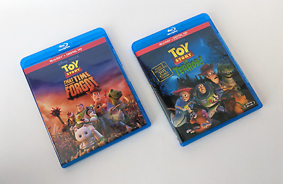 Toy Story of Terror + That Time Forgot Blu-ray Lot/Bundle