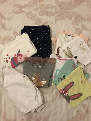 Girls Age 5-6 Clothes Bundle - Tops - Jumpers, Cardigan, Tshirts