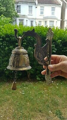 Antique/ Vintage Bronze Wall Door Bell