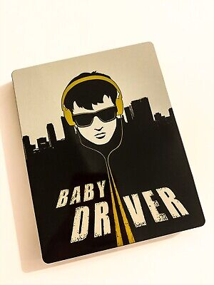Baby Driver Blu Ray Steelbook Mint Condition