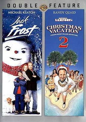 DVD Jack Frost & National Lampoons Christmas Vacation 2 NEW SEALED