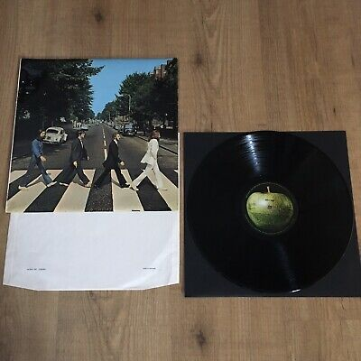 The Beatles Abbey Road #First Press# Vinyl 1969 (misaligned apple) UK BIDS ONLY!