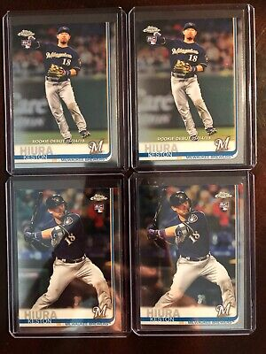 KESTON HIURA 2019 Topps Chrome Update 4 Card Rookie RC Lot !! HUGE !!