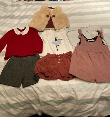 Age 2-3, Zara, John Lewis and Marks and Spencer shorts outfits